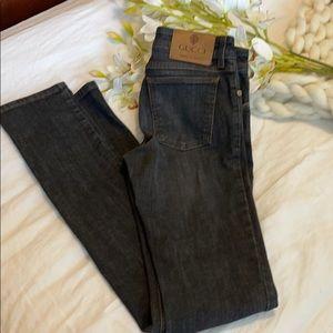 Gucci straight leg jeans. Prefect